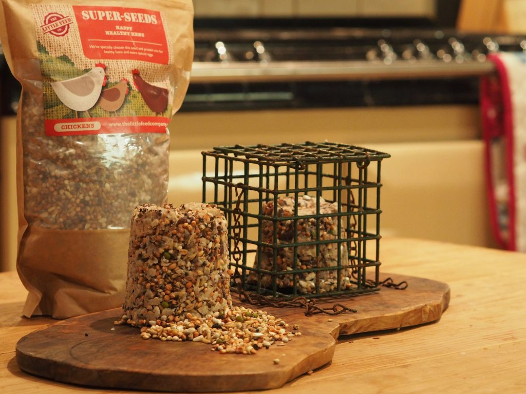 How to Make Fat Balls with Super Seeds