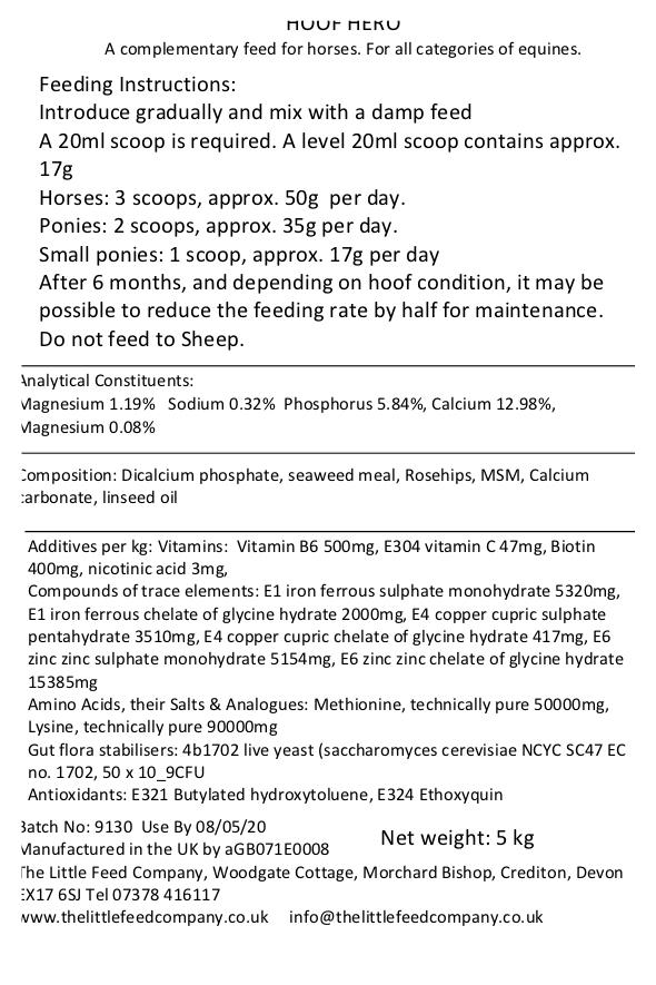 hoof supplement for horses