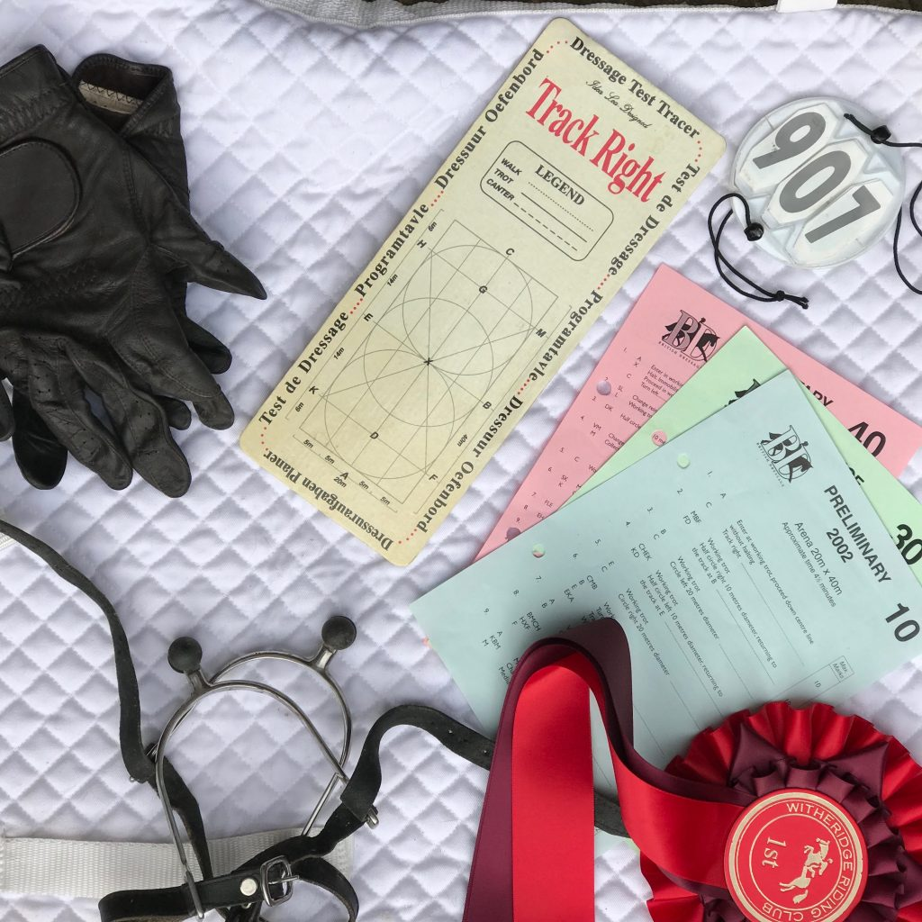 British dressage, equestrian, learn a dressage test