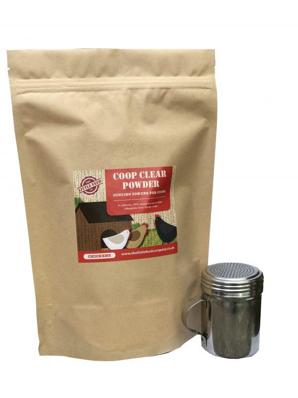 red mite powder, coop clear powder